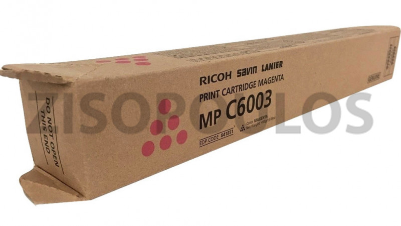 RICOH TONER MPC 6003 MAGENTA 841855