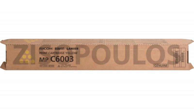 RICOH TONER MPC 6003 YELLOW 841854