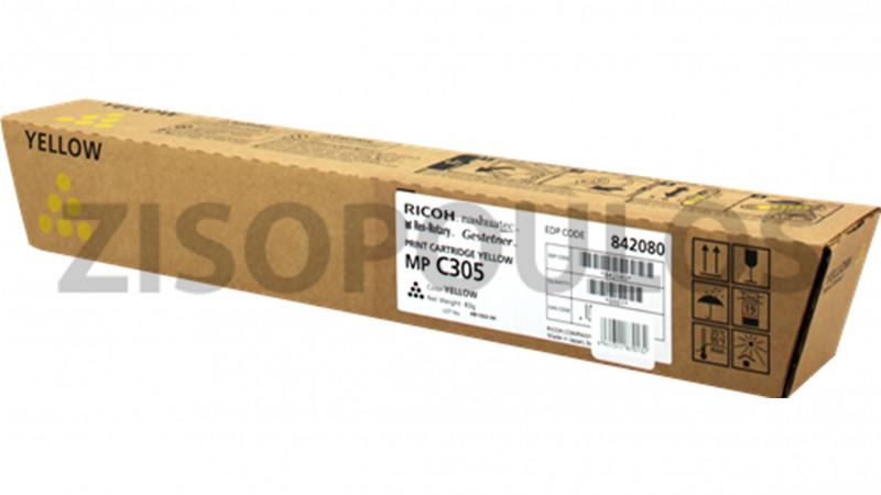 RICOH TONER MPC 305E YELLOW 842080
