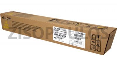 RICOH TONER  MPC 2503H YELLOW 841926