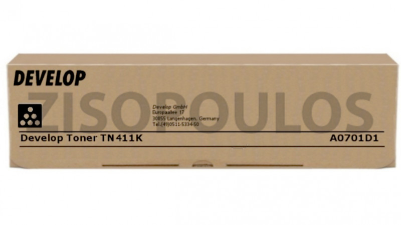 DEVELOP TONER TN 411 BLACK A0701D1