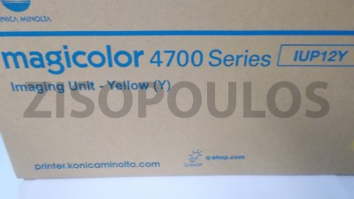 KONICA MINOLTA  IMAGING UNIT IUP12Y YELLOW