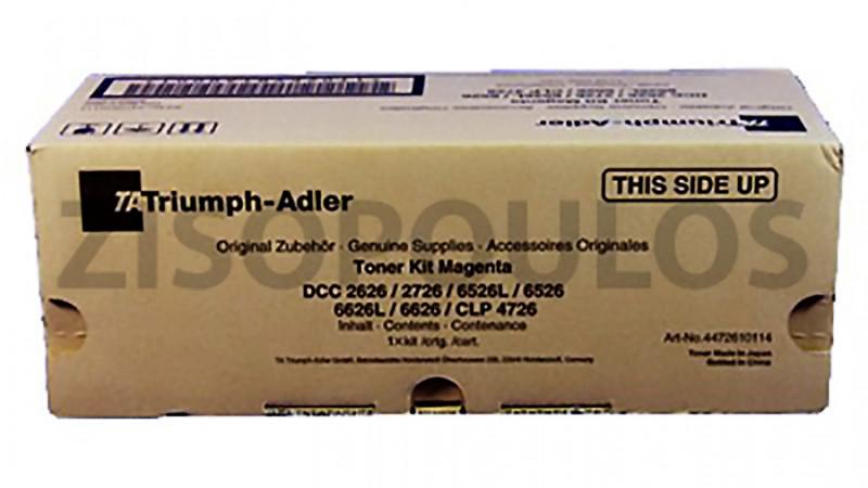TRIUMPH ADLER TONER KIT CLP 4726 / DCC 2626/2627/6526 MAGENTA 4472610114