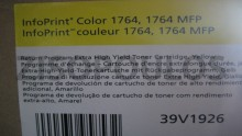 IBM LASER TONER CARTRIDGE EXTRA HIGH-YIELD YELLOW 39V1926