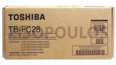 TOSHIBA  WASTE TONER CONTAINER TB-FC28
