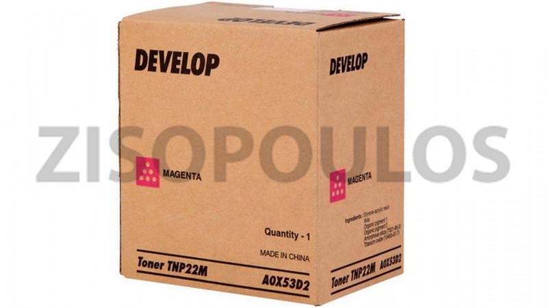 DEVELOP TONER TNP 22 MAGENTA A0X53D2