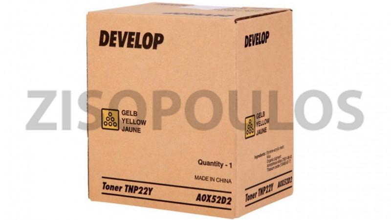 DEVELOP TONER TNP 22 YELLOW A0X52D2