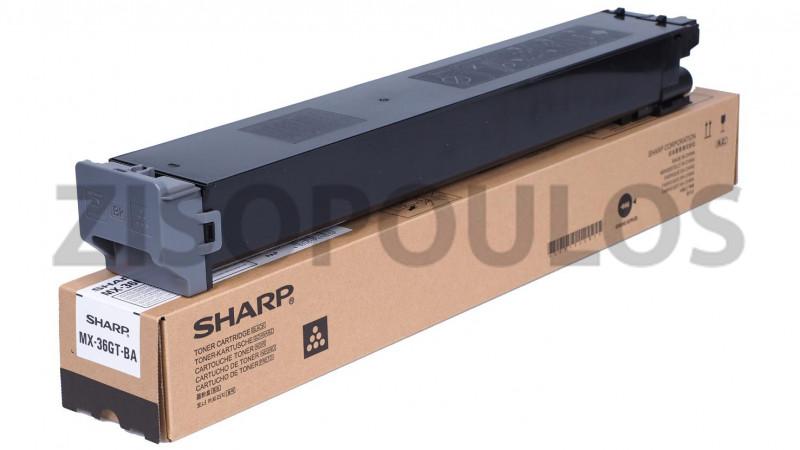 SHARP TONER CARTRIDGE MX36GTBA BLACK