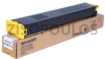 SHARP  YELLOW TONER CARTRIDGE MX-36GTYA