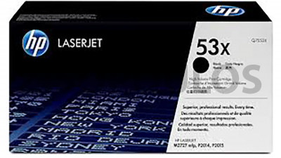 HP TONER 53X BLACK Q7553X