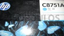 HP INK CARTRIDGE CYAN C8751A