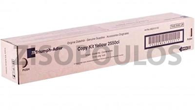 TRIUMPH ADLER TONER 2550CI YELLOW 662510116