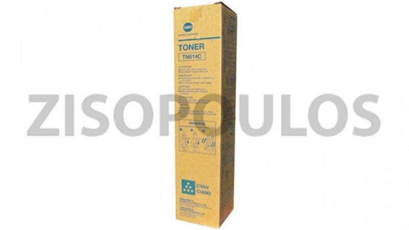 KONICA MINOLTA TONER TN 614 CYAN A0VW434