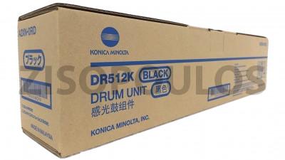 KONICA MINOLTA  DRUM UNIT DR 512  BLACK A2XN0RD