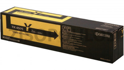 KYOCERA  TONER-KIT YELLOW TK-8505Y