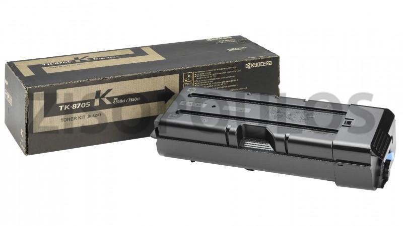 KYOCERA TONER KIT TK 8705 BLACK 1T02K90NL0