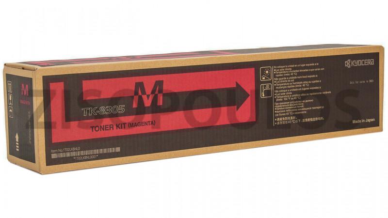 KYOCERA TONER CARTRIDGE TK 8305 MAGENTA 1T02LKBNL0