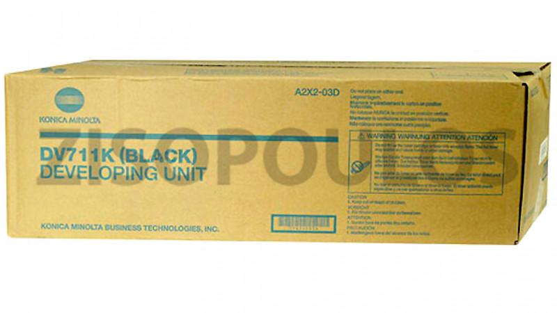 KONICA MINOLTA DEVELOPER ASSEMBLY DV 711 BLACK A2X203D