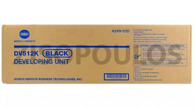 KONICA MINOLTA  DEVELOPER DV512 BLACK A2XN03D