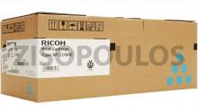 RICOH  TONER CYAN SPC310HE 406480