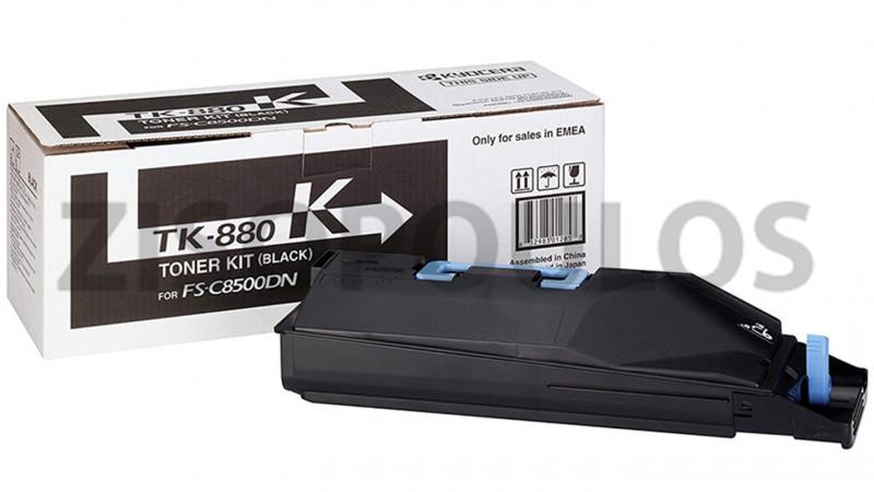 KYOCERA TONER CARTRIDGE TK 880 BLACK 1T02KA0NL0