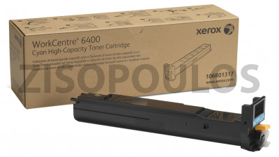 XEROX  TONER CARTRIDGE HIGH CAPACITY 106R01317 CYAN