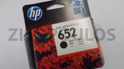 HP INKJET 652 BLACK F6V25AE