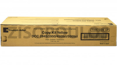 TRIUMPH ADLER  COPY KIT DCC 2945 YELLOW 654510116