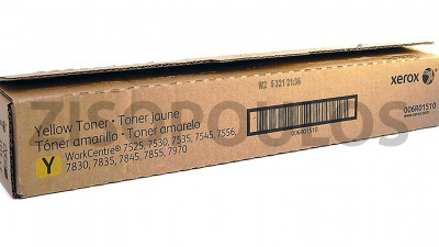 XEROX  TONER CARTRIDGE 006R01510 YELLOW