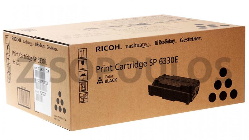 RICOH TONER CARTRIDGE SP 6330 BLACK  821231