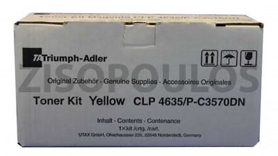 TRIUMPH ADLER  TONER KIT CLP 4635 YELLOW 4463510116