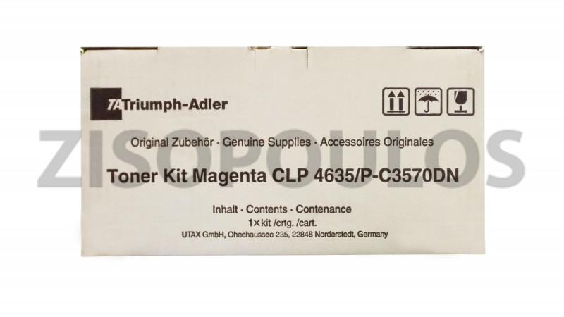 TRIUMPH ADLER TONER KIT CLP 4635 MAGENTA 4463510114