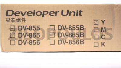 KYOCERA  DEVELOPER UNIT DV855Y YELLOW 302H793199