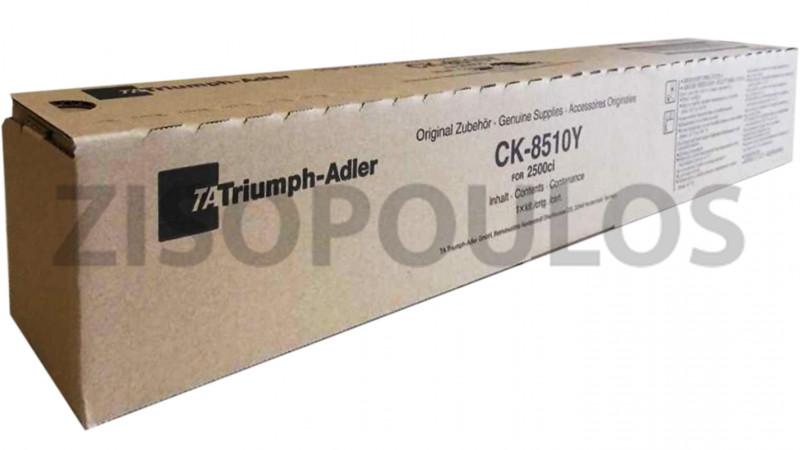 TRIUMPH ADLER TONER CK 8510 YELLOW 662511116