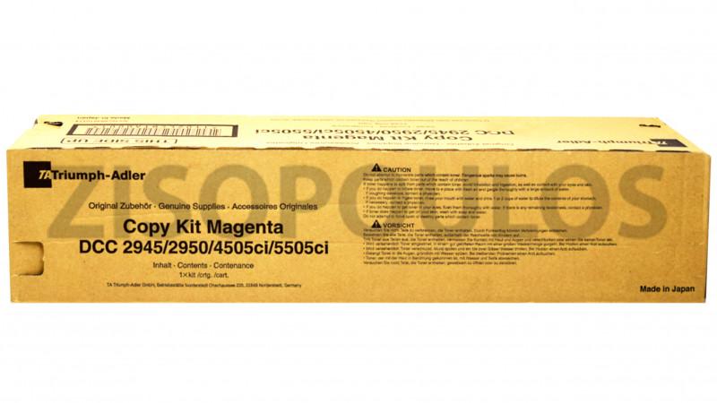 TRIUMPH ADLER TONER KIT DCC 2945/2950/4505CI/5505CI MAGENTA 654510114
