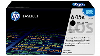 HP TONER CARTRIDGE C9730A BLACK