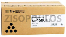 RICOH  TONER CARTRIDGE SP4500HE BLACK 407318