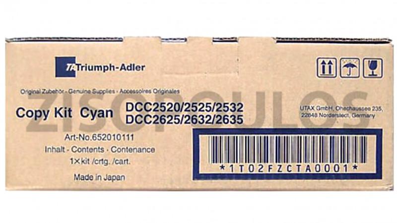 TRIUMPH ADLER TONER DCC 2520/2525/2532 CYAN 652010111