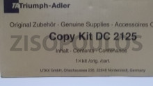 TRIUMPH ADLER  COPY KIT DC 2125 BLACK 612510115