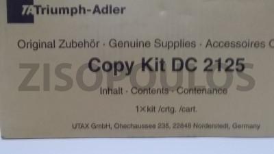 TRIUMPH ADLER  COPY KIT DC 2125 BLACK 612510115