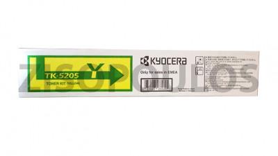 KYOCERA  TONER CARTRIDGE TK5205 YELLOW