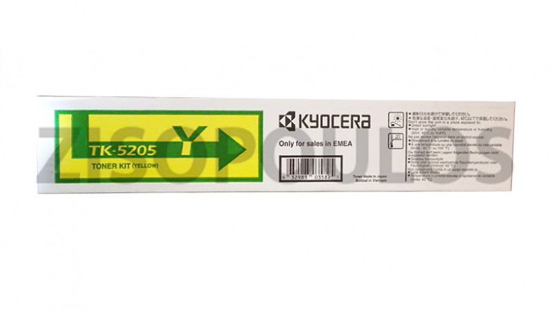 KYOCERA TONER CARTRIDGE TK 5205 YELLOW 1T02R5ANL0
