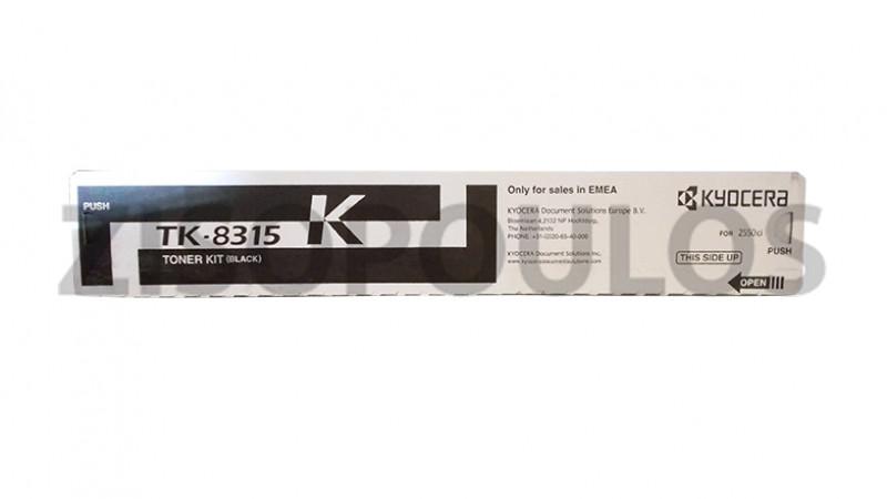 KYOCERA TONER CARTRIDGE TK 8315 BLACK 1T02MV0NL0