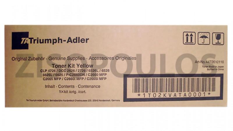TRIUMPH ADLER TONER KIT CLP 4726/DCC 2626/2627 YELLOW 4472610116