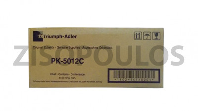 TRIUMPH ADLER  TONER PK-5012C CYAN 1T02NSCUT0