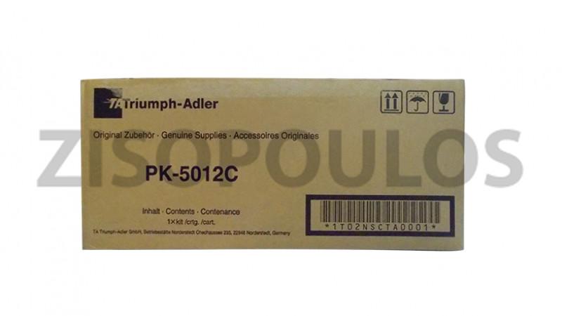 TRIUMPH ADLER TONER PK 5012 CYAN 1T02NSCUT0