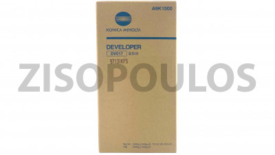 KONICA MINOLTA DEVELOPER DV 017 BLACK A9K1500