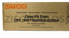 UTAX TONER CARTRIDGE CYAN 654510011