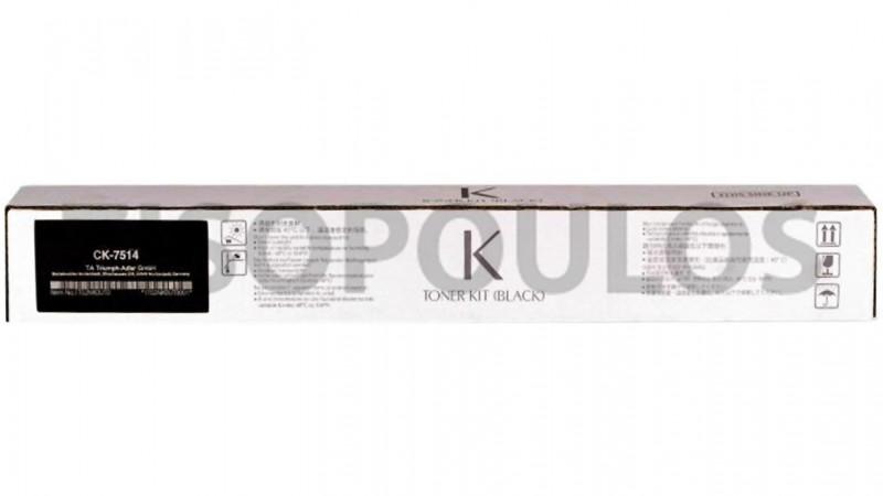 TRIUMPH ADLER TONER CK 7514 BLACK 1T02NK0UT0
