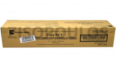 TRIUMPH ADLER  TONER KIT DCC2965 YELLOW 656510116